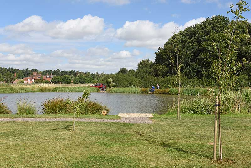 Fishing in tranquil surroundings Retford near Lincolnshire